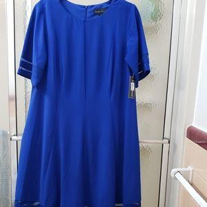 NWT Jessica Howard Women Blue Dress; 14W& 20W $80